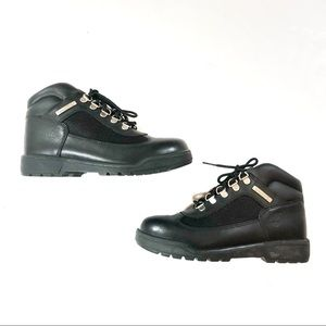 [Timberland] Black Leather Field Boot Size 6